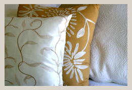 Tuishuisie Stellenbosch: scatter pillows